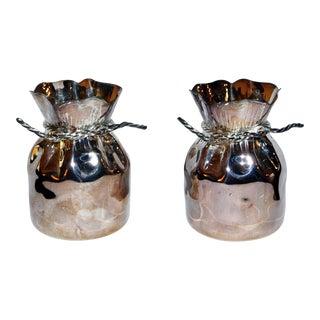 1970s Almazan Bag Vases - a Pair For Sale