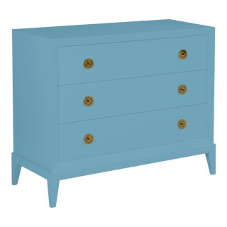 Casa Cosima Hayes Chest, Colonial Blue For Sale
