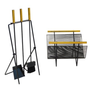 Gene Tepper Fireplace Tool Set