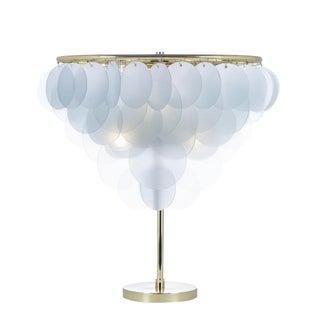 Brass & Glass Cloud Lamp