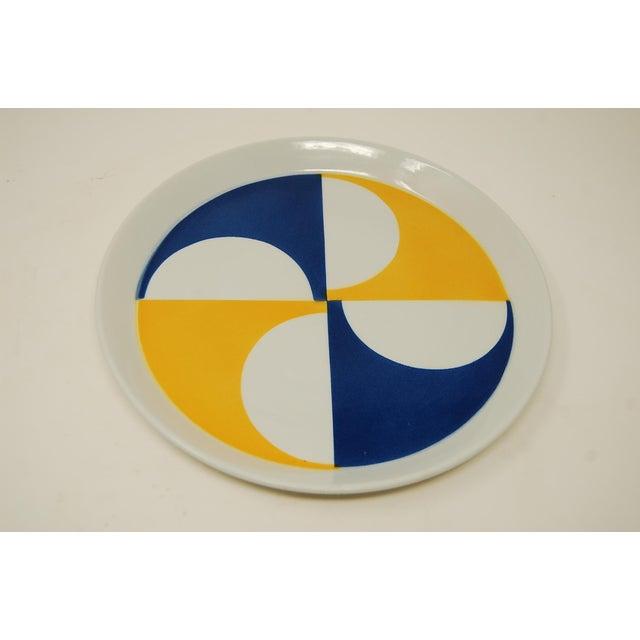 Mid-Century Modern Vintage Mid Century Gio Ponti for Franco Pozzi Plates- Set of 10 For Sale - Image 3 of 4