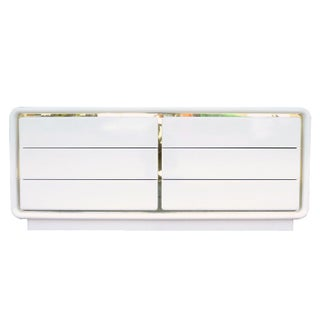 Glenn of California White 6-Drawer Dresser