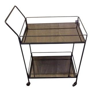 Contemporary Dixon Serving Cart For Sale