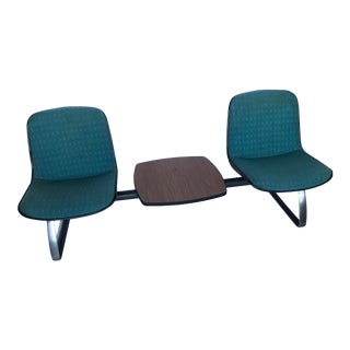 1970s Mid-Century Steelcase Tandem Seating For Sale