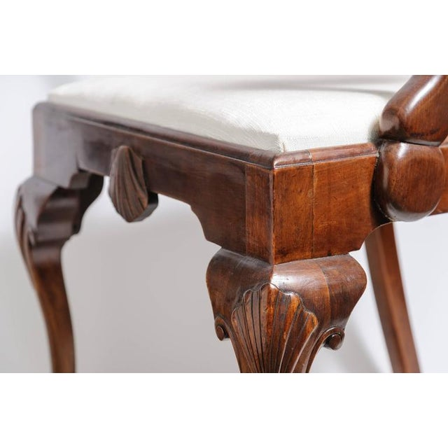 Set of Six 19th Century English, Chippendale Style Mahogany Dining Chairs - Image 4 of 8