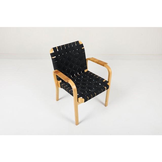 Alvar Aalto Artek 45 Armchair | Chairish