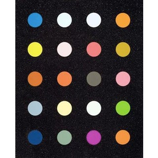 Methylamine-13c, screen print by Damien Hirst