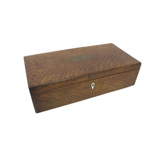 18th Century Industrial Oak Storage Box For Sale