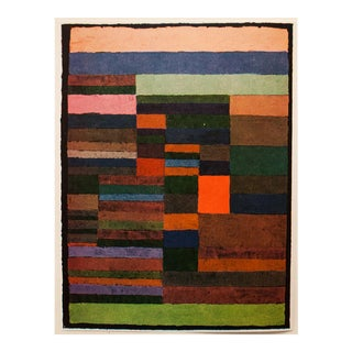 "1955 Paul Klee ""Individualized Measurement of Strata"", First Edition Lithograph For Sale"
