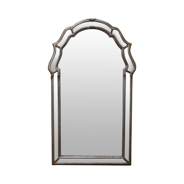 LaBarge Vintage Italian Silver Wall Mirror - Image 1 of 10