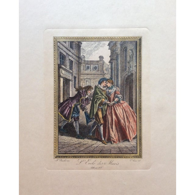 Late 18th Century François Boucher 18th Century Engraving Print For Sale - Image 5 of 5