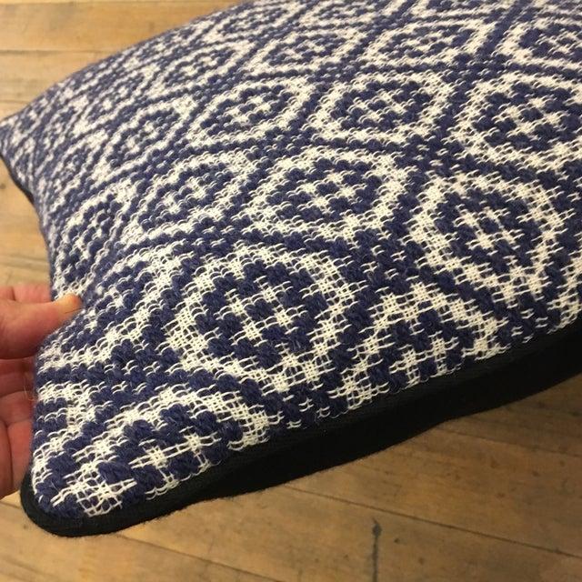 Gray Italian Artisan Pillow - Image 4 of 4