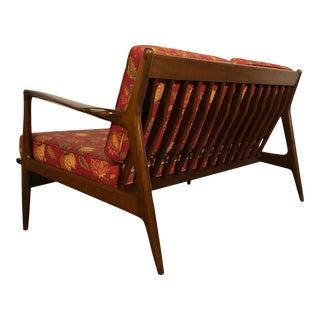 Ib Kofod Larsen for Selig Mid-Century Modern Sofa / Settee ~ a Pair For Sale