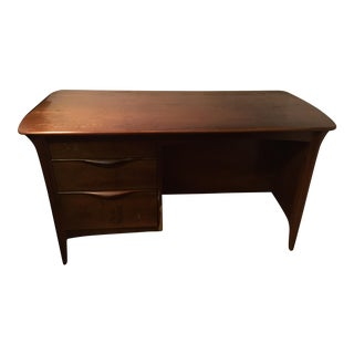 Mid-Century Modern Floating Desk For Sale