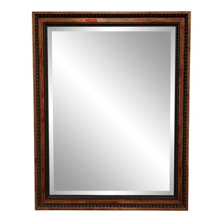La Marche Custom Framed Beveled Mirror For Sale