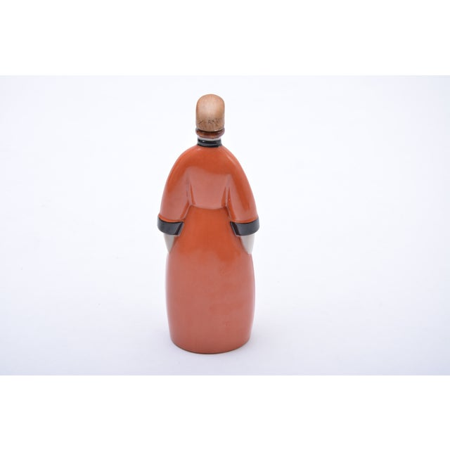 Orange Le Russe Decanter From Robj, 1930s For Sale - Image 8 of 9