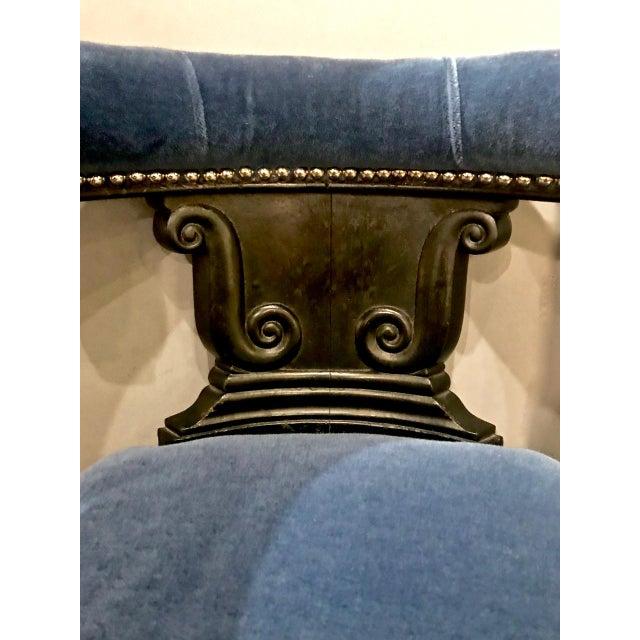 Metal Anglo-Raj (English) Cockfighting Chair. C. 1830-40 For Sale - Image 7 of 9