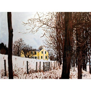 """Josh Moulton """"Winter's Color"""" Giclee Print After a Painting For Sale"""