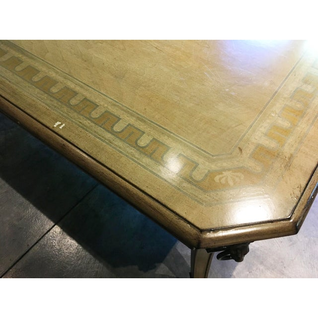 Wood John Widdicomb Regency Coffee Table For Sale - Image 7 of 9