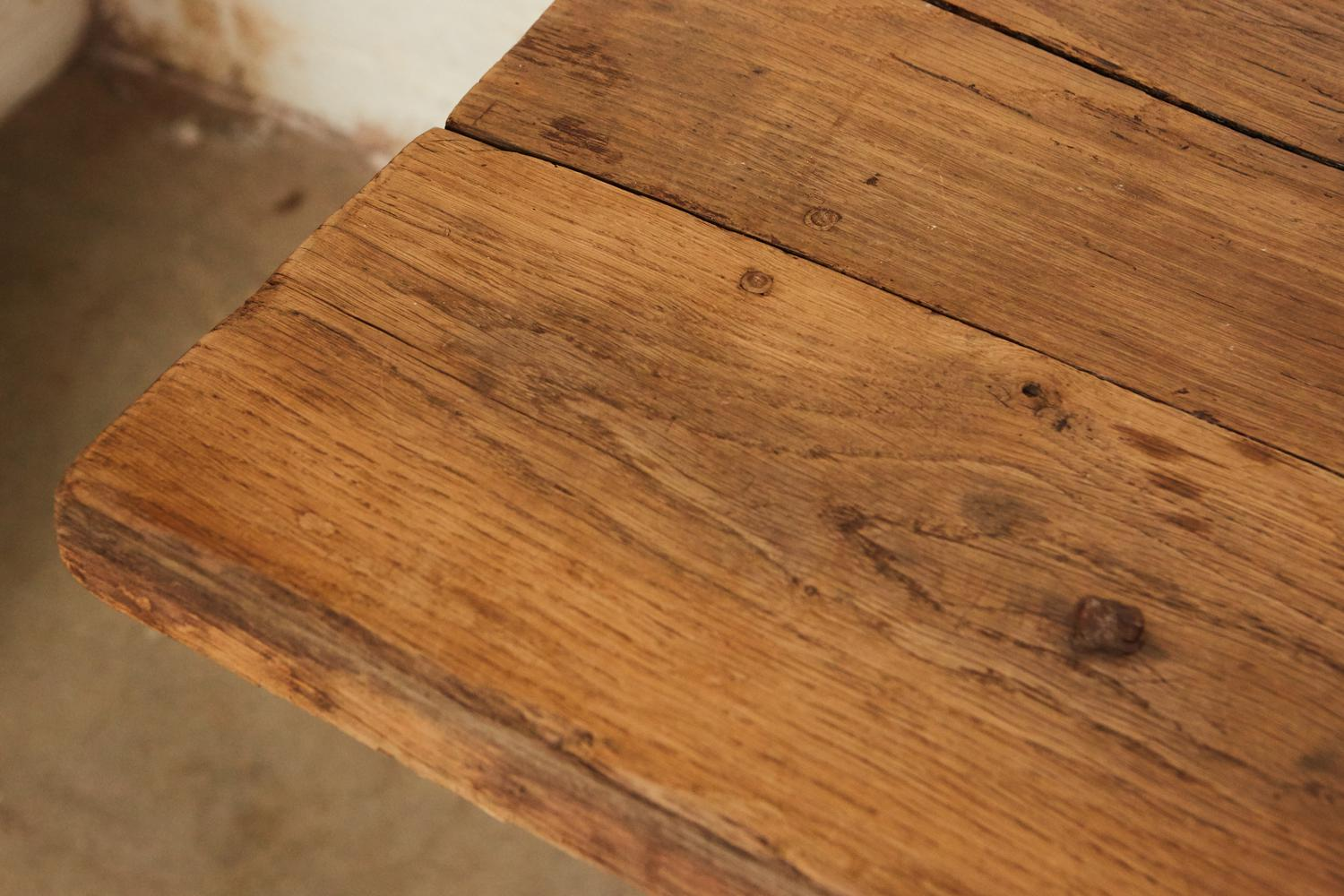 French Farm Trestle Table   Image 4 Of 5