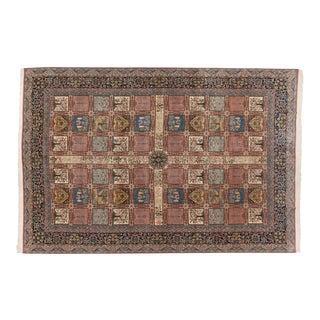 "Vintage Bulgarian Kerman Design Carpet - 12' X 18'1"" For Sale"