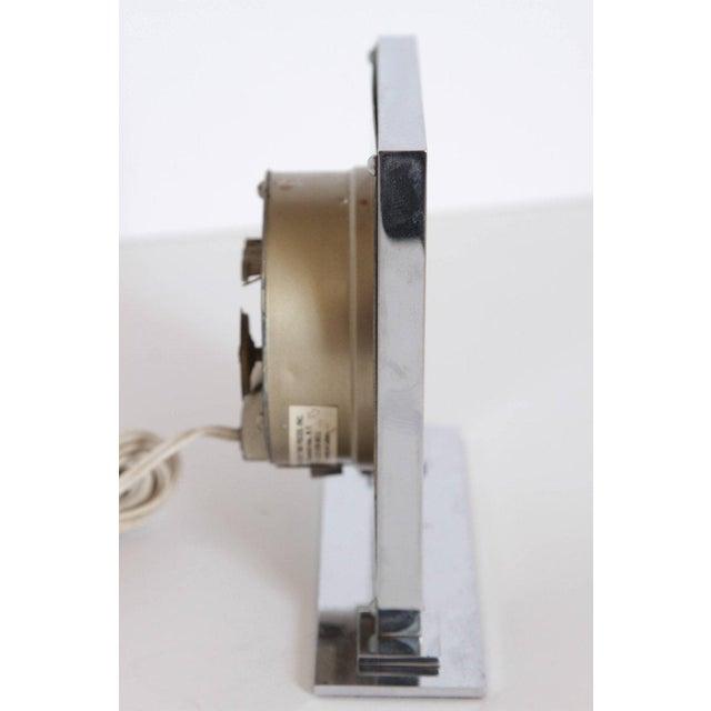 Machine Age Art Deco Gilbert Rohde for Herman Miller Original Working Clock For Sale - Image 10 of 11