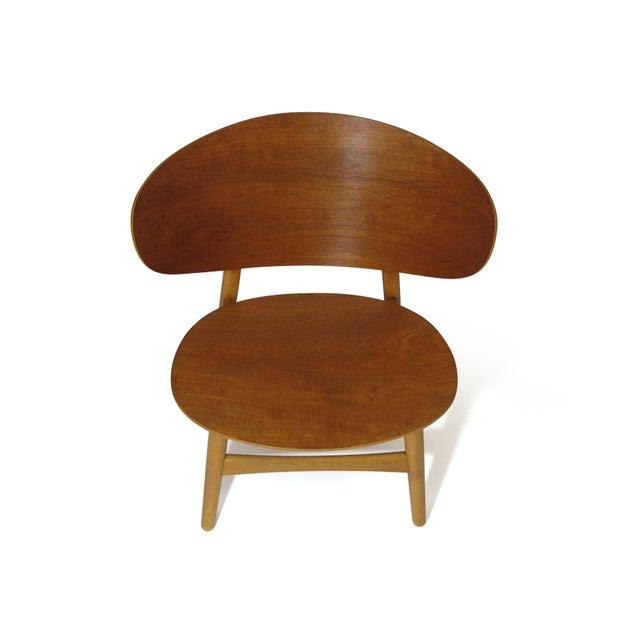 Hans Wegner Teak Shell Chair Fh-1936 For Sale - Image 9 of 12