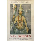 Image of 1964 Original French Festival Poster, Van Dongen For Sale