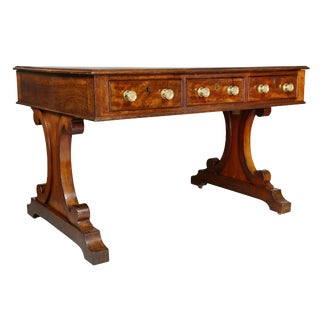 William iv Mahogany Writing Table For Sale