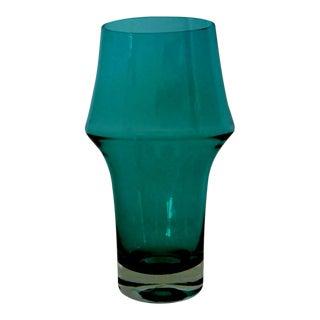 Vintage Aimo Okkolin Glass Vase For Sale