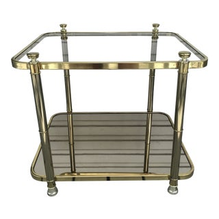 1960s Vintage Hollywood Regency Bar Cart