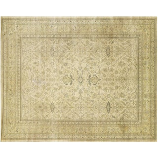 "1920s Anatolian Oushak - 10'2"" X 12'9"" For Sale"