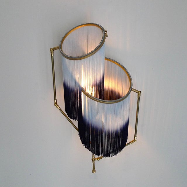 Sander Bottinga Blue Charme Sconce Lamp, Sander Bottinga For Sale - Image 4 of 9
