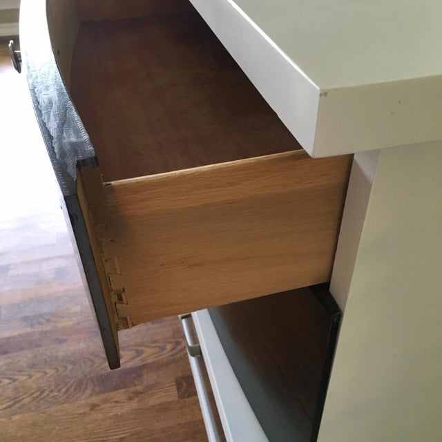Two-Tone Mid-Century Modern Dresser - Image 3 of 5