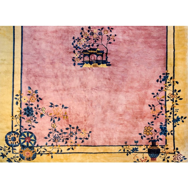 Gorgeous Chinese Art Deco Rug For Sale In Chicago - Image 6 of 8