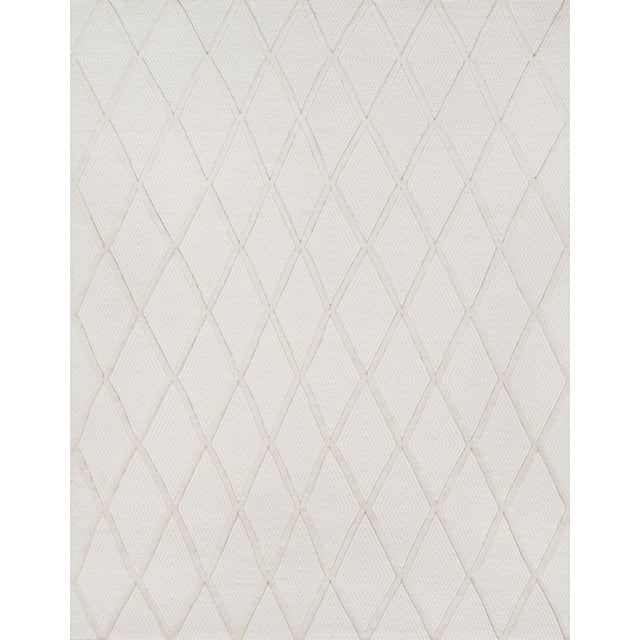 Erin Gates by Momeni Langdon Spring Beige Hand Woven Wool Area Rug - 8′6″ × 11′6″ For Sale In Atlanta - Image 6 of 7