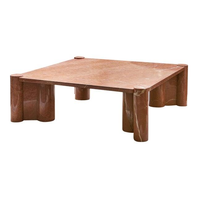 Gae Aulenti Knoll International Marble Jumbo Table For Sale