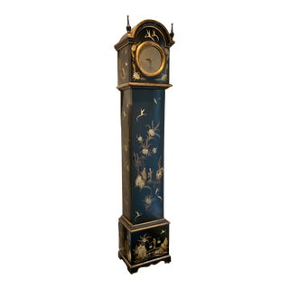 1960s Trouvailles, Inc. Chinoiserie Grandfather Clock For Sale