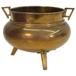 English Aesthetic Movement Period Brass Planter