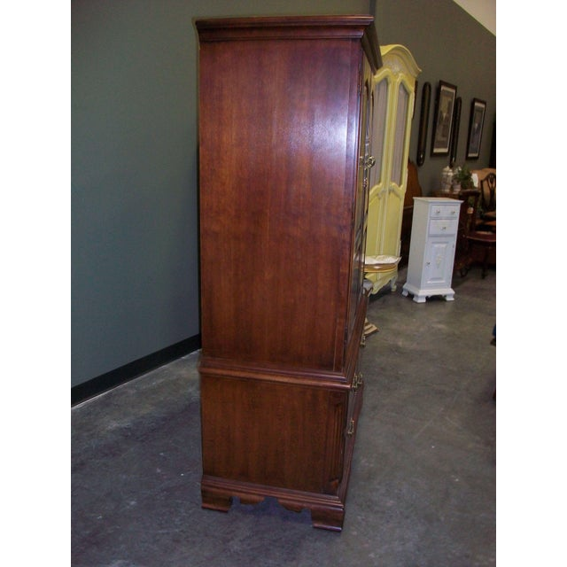 Thomasville Collectors Cherry Armoire - Image 7 of 11