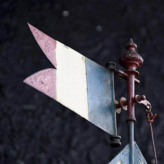 19th Century Votive Copper Sea Vessel For Sale - Image 12 of 13