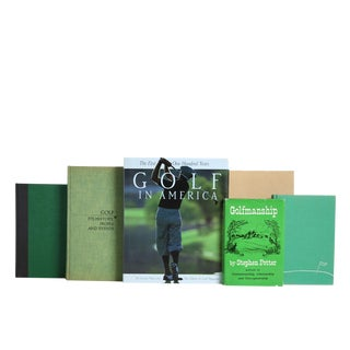 Bogey Man Golfing Selections : Set of Fifteen Decorative Books For Sale