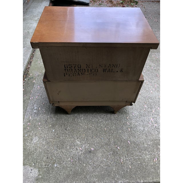 Mid-Century Modern 1960s Kent Coffey Mid Century Modern Bedside Table For Sale - Image 3 of 4