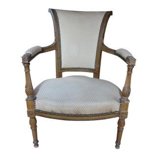 Pair of Directoire Period Fauteuils For Sale