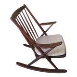 Image of 1960s Danish Modern Frank Reenskaug for Bramin Mobler Rocking Chair For Sale