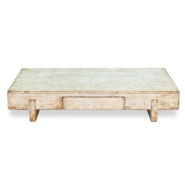 Sarreid Ltd Perth White Coffee Table - Image 2 of 8