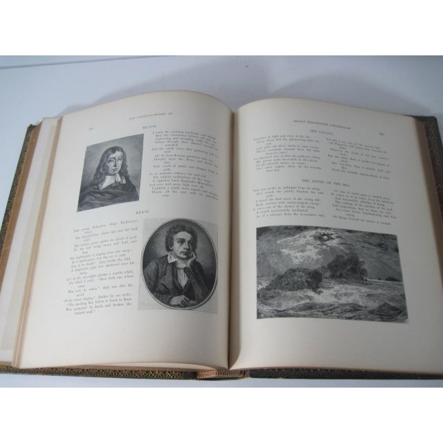 The Poetical Works of Henry Wadsworth Longfellow Illustrated For Sale - Image 10 of 13