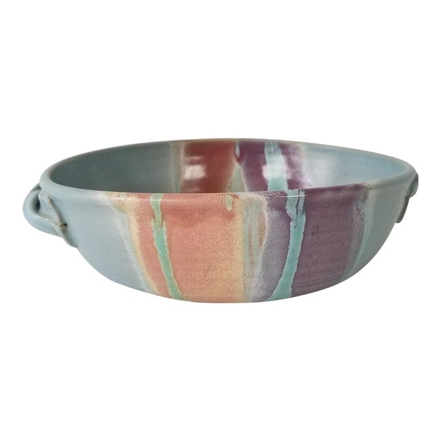Frank Digangi Art Pottery Bowl . For Sale