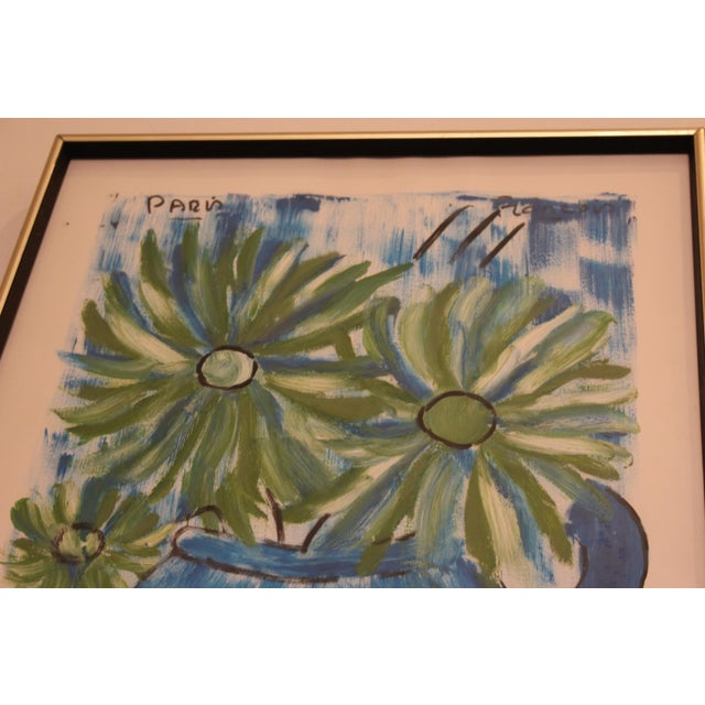 Francois Paris Mid-Century Original Still Life Painting - Image 5 of 11