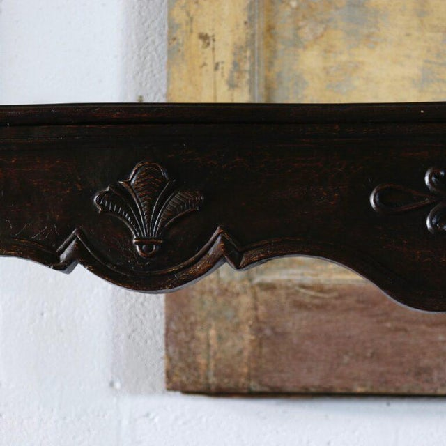 French 18th Century French Carved Mantle For Sale - Image 3 of 5